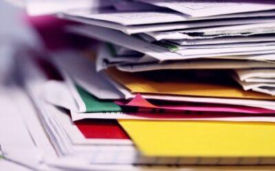 Digitalización de documentos en el área financiera